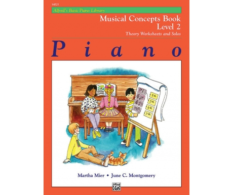 Alfred's Basic Piano Library Musical Concepts Book Level 2