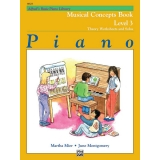 Alfred's Basic Piano Library Musical Concepts Book Level 3