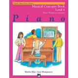 Alfred's Basic Piano Library Musical Concepts Book Level 4
