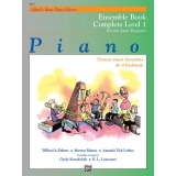 Alfred's Basic Piano Library Ensemble Book Complete Level 1 for the Later Beginner