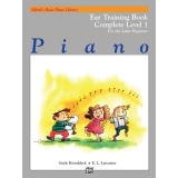 Alfred's Basic Piano Library Ear Training Book Complete Level 1 for the Later Beginner