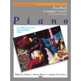 Alfred's Basic Piano Library Fun Book Complete Level 1 for the Later Beginner