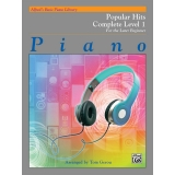 Alfred's Basic Piano Library Popular Hits Complete Level 1 for the Later Beginner