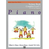 Alfred's Basic Piano Library Technic Book Complete Level 1 for the Later Beginner