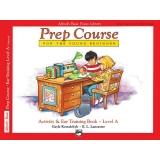 Alfred's Basic Prep Course Activity & Ear Training Book Level A