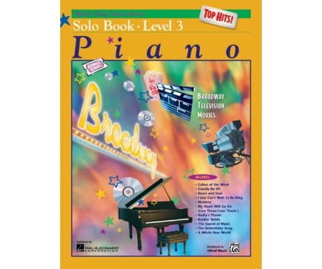 Alfred's Basic Piano Library Top Hits! Solo Book Level 3