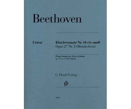 Beethoven: Klaviersonate Nr. 14 cis-moll Opus 27 Nr. 2 (Mondschein) (Piano Sonata no. 14 in c# minor op. 27 no. 2 (Moonlight))