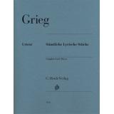 Grieg: Sämtliche Lyrische Stücke (Complete Lyric Pieces)