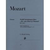 "Mozart: Zwölf Variationen über ""Ah, vous dirai-je Maman"" KV 265 (Twelve Variations on ""Ah, vous dirai-je Maman"" K. 265)"
