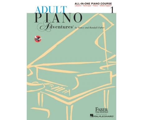 Adult Piano Adventures All-in-One Piano Course 1 (with Online Support)