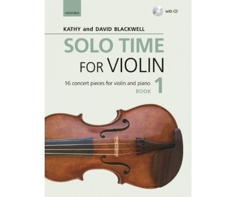 Solo Time for Violin Book 1 (with CD)