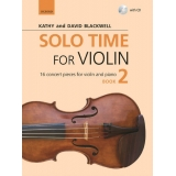 Solo Time for Violin Book 2 (with CD)