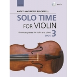 Solo Time for Violin Book 3 (with CD)