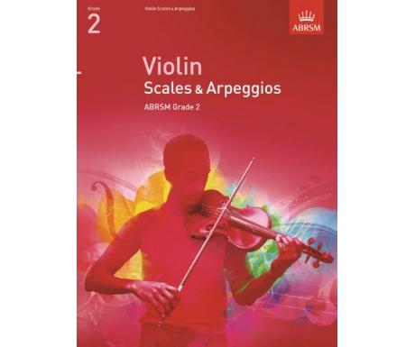 Violin Scales & Arpeggios ABRSM Grade 2