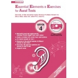 Essential Elements & Exercises for Aural Tests Grade 4 (with CD)