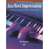 Alfred's Jazz/Rock Course Jazz/Rock Improvisation Level 2