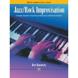 Alfred's Jazz/Rock Course Jazz/Rock Improvisation Level 3