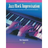 Alfred's Jazz/Rock Course Jazz/Rock Improvisation Level 4