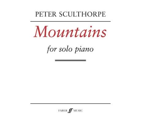 Peter Sculthorpe: Mountains for Solo Piano