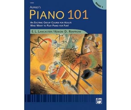 Alfred's Piano 101 Book 1