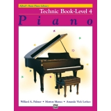 Alfred's Basic Piano Library Technic Book Level 4