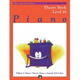 Alfred's Basic Piano Library Theory Book Level 1A
