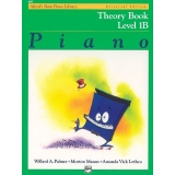 Alfred's Basic Piano Library Theory Book Level 1B