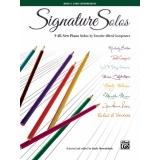 Signature Solos Book 3 (Early Intermediate)