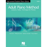 Hal Leonard Student Piano Library Adult Piano Method Book 2 (with Audio and MIDI Access)