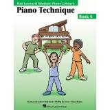 Hal Leonard Student Piano Library Piano Technique Book 4