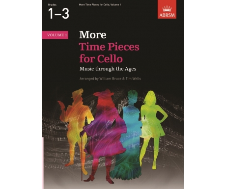 More Time Pieces for Cello, Volume 1 (Grades 1-3)