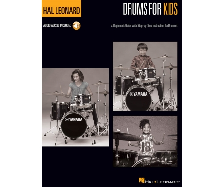 Hal Leonard Drums for Kids (with Audio Access)