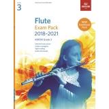 Flute Exam Pack 2018-2021 ABRSM Grade 3