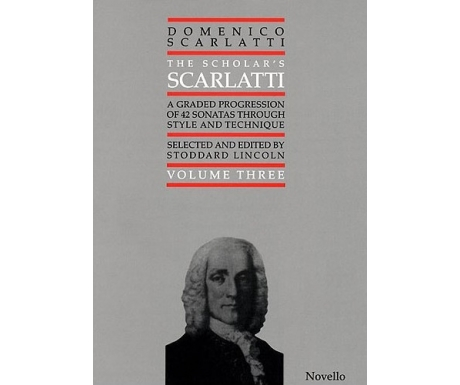Domenico Scarlatti: The Scholar's Scarlatti Volume Three