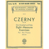 Czerny Op. 821 - One Hundred and Sixty Eight-Measure Exercises for the Piano