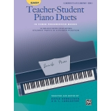 Easy Teacher-Student Piano Duets Book 2 (Elementary to Late Elementary)