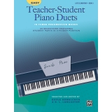 Easy Teacher-Student Piano Duets Book 3 (Late Elementary)