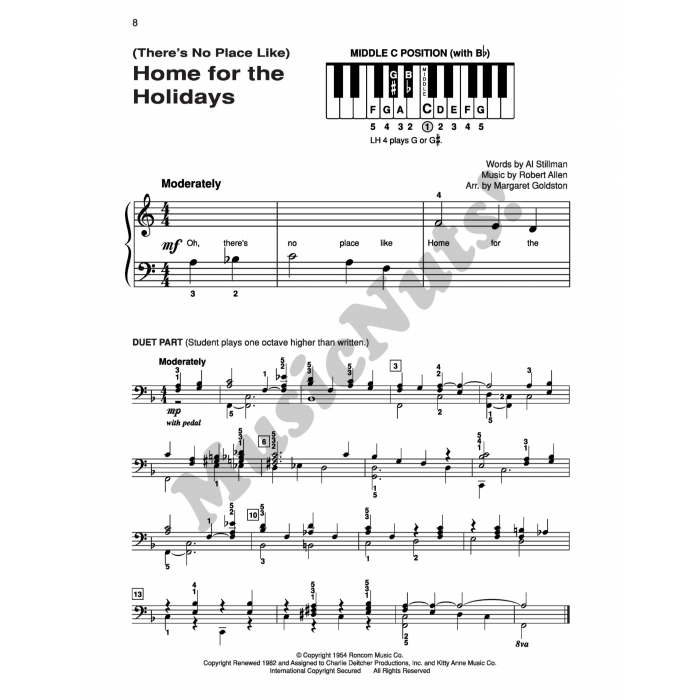 Christmas Book Level 1 A Top Hits from Alfred/'s Basic Piano Library