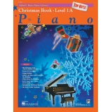 Alfred's Basic Piano Library Top Hits! Christmas Book Level 1A