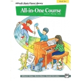 Alfred's Basic Piano Library All-in-One Course Book Two (Lesson ∙ Theory ∙ Solo)