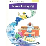 Alfred's Basic Piano Library All-in-One Course Book Five (Lesson ∙ Theory ∙ Solo)