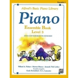Alfred's Basic Piano Library Ensemble Book Level 3