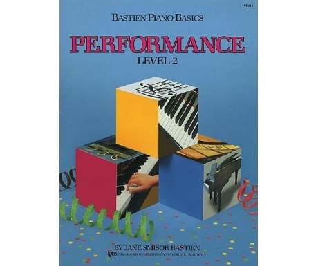 Bastien Piano Basics Performance Level 2