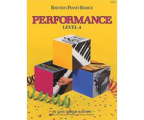 Bastien Piano Basics Performance Level 4