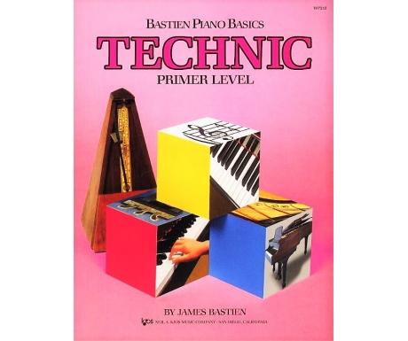 Bastien Piano Basics Technic Primer Level
