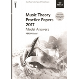 Music Theory Practice Papers 2017 Model Answers ABRSM Grade 1