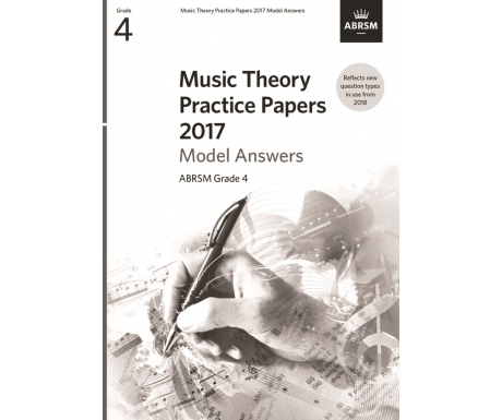 Music Theory Practice Papers 2017 Model Answers ABRSM Grade 4