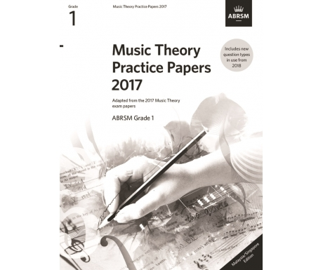 Music Theory Practice Papers 2017 ABRSM Grade 1 (Malaysia/Singapore Edition)