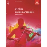 Violin Scales & Arpeggios ABRSM Grade 4