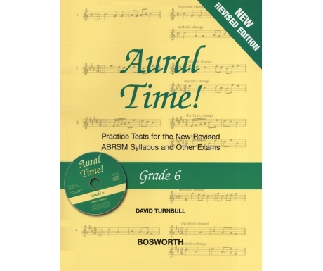 Aural Time! Grade 6 (New Revised Edition with CD)